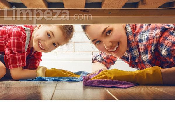 Evite acidentes durante as tarefas de limpeza