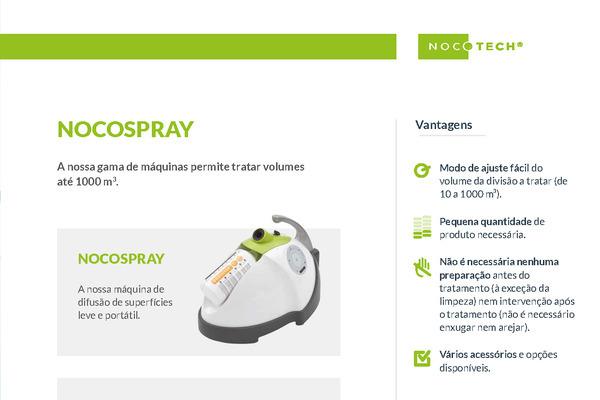 Biodesinfecção ambiental tecnologia francesa Nocospray